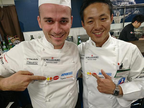 イタリア展で好評 塚麺の生パスタ
