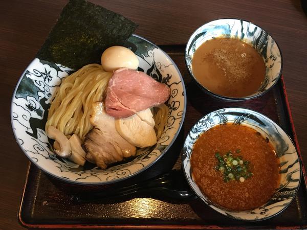 長野県産石臼挽き豪華つけ蕎麦
